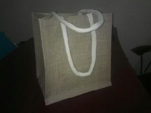 W 12 x L 13.5 x G 4.5 inch Jute Shopping Bag