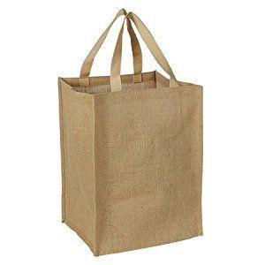 W 12 x L 14 x G 10 inch Jute Shopping Bag