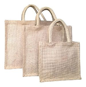 W 12 x L 16 x G 4.5 inch Jute Shopping Bag