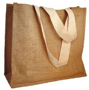 W 13 x L 14 x G 4.5 inch Jute Shopping Bag