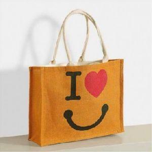 W 13 x L 15 x G 4.5 inch Jute Shopping Bag