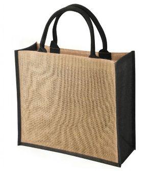 W 14 x L 14 x G 4.5 inch Jute Shopping Bag