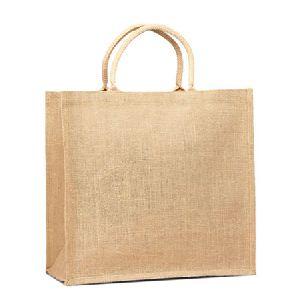 W 14 x L 15.5 x G 4.5 inch Jute Shopping Bag