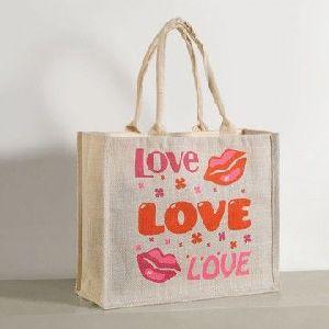 W 14 x L 16 x G 4.5 inch Jute Shopping Bag 01