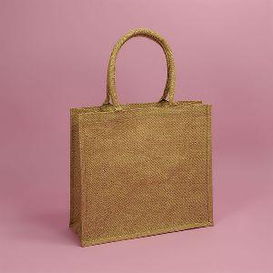 W 15 x L 17 x G 4.5 inch Jute Shopping Bag