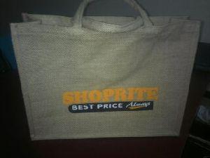 W 16 x L 14 x G 4.5 inch Jute Shopping Bag 02