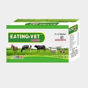 Eating Vet Bolus