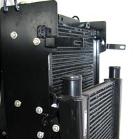 Backhoe Loader Radiator Cum Oil Cooler Assembly