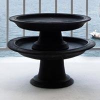 Wooden Handicraft Black Bowls