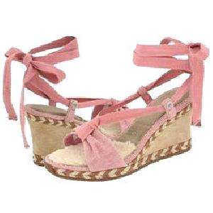 Wedge Heel Platform Sandals