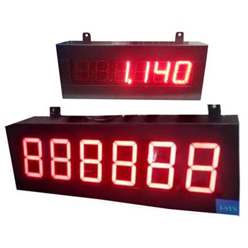 Serial Jumbo Display Indicator