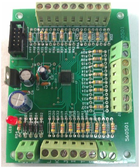 Serial Output/Input Control Card