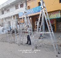 Aluminium Dual Purpose Ladder