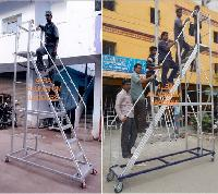 Aluminium Trolley Step Ladder