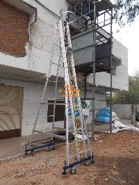 Movable Extension Ladder