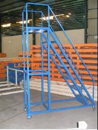MS Step Trolley Ladder