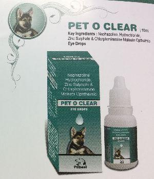 Pet O Clear Eye Drops
