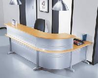 stainless steel office reception furniture