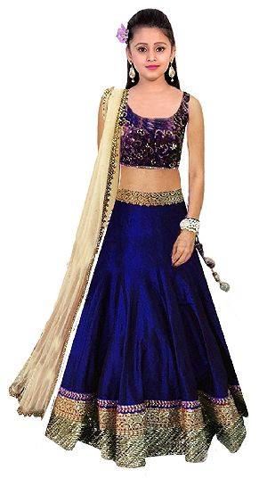 Royal Blue Lehenga Choli