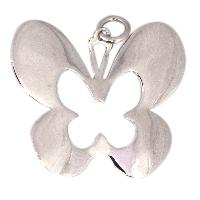 Butterfly 925 Sterling Silver Pendant