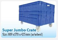 Super Jumbo Crates (With Wheels)