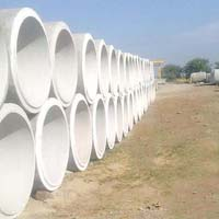 White RCC Hume Pipes