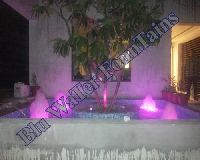 Lighted Outdoor Fountain