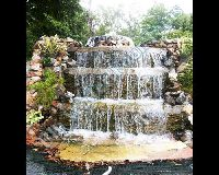 Natural Stone Outdoor Waterfall Fountain