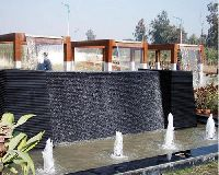 Outdoor Wallfall Fountain