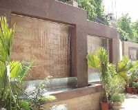 Rain Water Outdoor Curtain