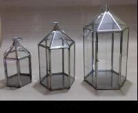 Stainless Steel Hanging Lanterns (108 ABC)