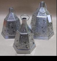 Stainless Steel Hanging Lanterns (123 ABC)