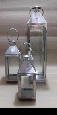 Stainless Steel Hanging Lanterns (126 ABC)