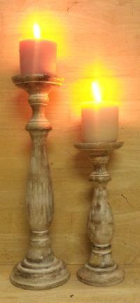 Wooden Candle Stands 03