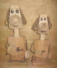 Wooden Cartoons 03