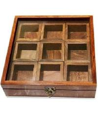 Wooden Spice Box 03