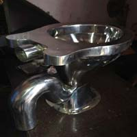 Stainless Steel EWC Toilet