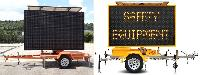 Solar Powered LED Display