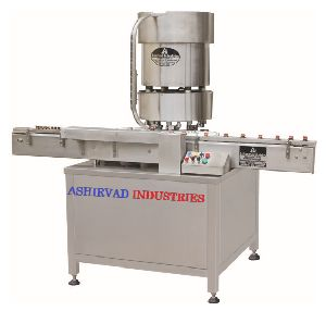 Automatic Aluminium Cap Sealing Machine
