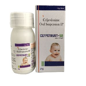 Cefpotrust-50 Oral Suspension