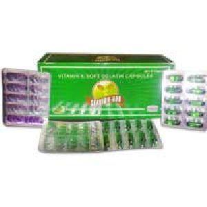 Vitamin-E Soft Gelatin Capsules