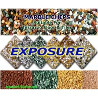 Natural Colored Marble Chips 03
