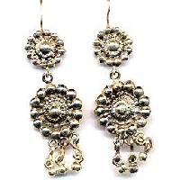 Silver Earrings Ec-se-03