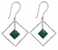 Sterling Silver Earrings Ec-er13