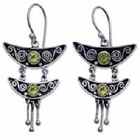 Sterling Silver Earrings Ec-er16