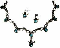 Sterling Silver Necklace Set- EC S3