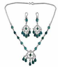 Sterling Silver Necklace Set- EC S5