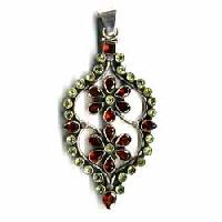 Sterling Silver Pendants Ec-p17