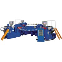 Automatic Rotary Three Color Shoes Injection Machine (F-3C20)