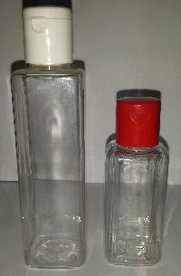 Pet Bottle 100ml, 50ml Sq.